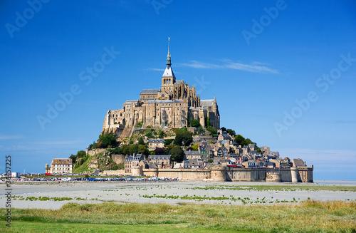 Leinwanddruck Bild Mont Saint Michel