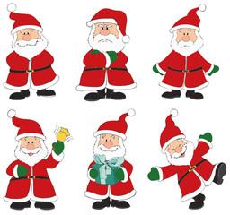 Weihnachtsmänner, Weihnachtsmann, Nikolaus, Weihnachten