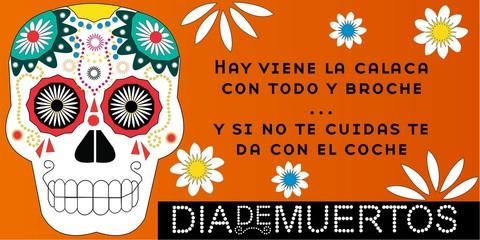 Calaverita Día de Muertos