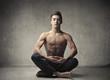 Fototapeta Fitness - Medytacja - Relaks