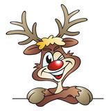 Twinkling Reindeer poster