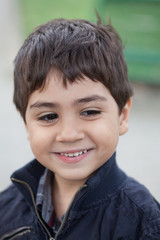 ritratto bambino sorridente