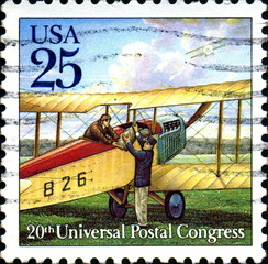 20th Universal postal congress. Us Postage.