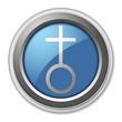 "3D Style Button ""Church"""