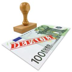 European Union financial crisis concept.