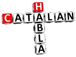 3D Habla Catalan Crossword