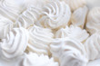 Meringue closeup