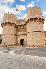Torres de Serranos, Valencia, Spanien