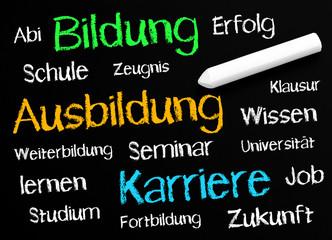 Bildung - Ausbildung - Karriere