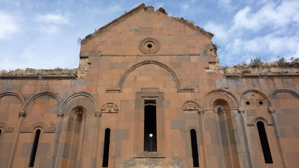 Armenian cathederal at ani in turkey
