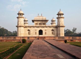 Itmad-ud-daulah tomb in Agra, India