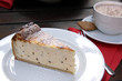 käsekuchen und kakao