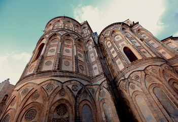 Cathedral of Monreale in Palermo, Sicily