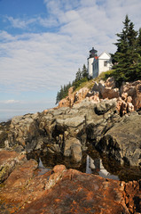 Bass Harbor Lighthouse, Acadia National Park (Maine)