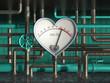 Leinwandbild Motiv Bluthochdruck4G