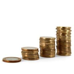 Euromünzen Treppe 01