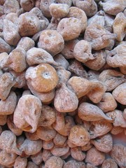Higos secos. Dried figs