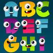 Alphabet Cartoon Set 1
