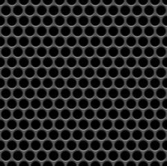 seamless speaker grille