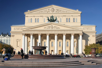 Main building of Bolshoi Theatre after reconstruction.