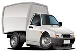 Vector cartoon delivery pickup