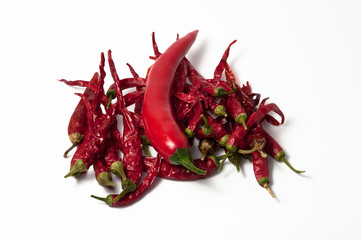 dehydrate and chili peppers