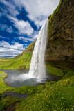 Fototapety Wasserfall Seljalandsfoss Island