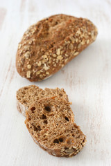 Bread with cereals