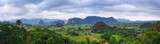The beautiful Vinales Valley in Cuba.