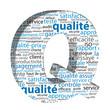 """Nuage de Tags """"QUALITE"""" (3d essayé approuvé fiabilité service)"""