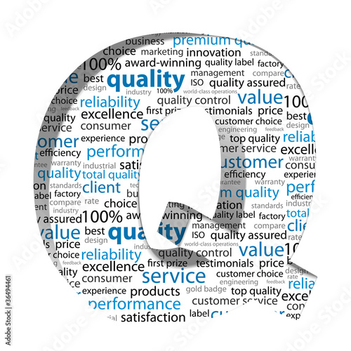 QUALITY Tag Cloud (satisfaction guaranteed reliability3d)