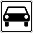 Auto PKW Parkplatz KFZ Schild Zeichen Symbol