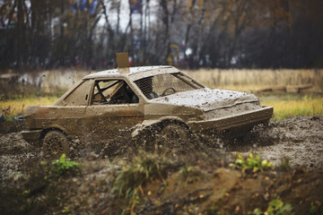 Off-road race car