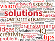 SOLUTIONS Tag Cloud (ideas answers expertise service innovation)