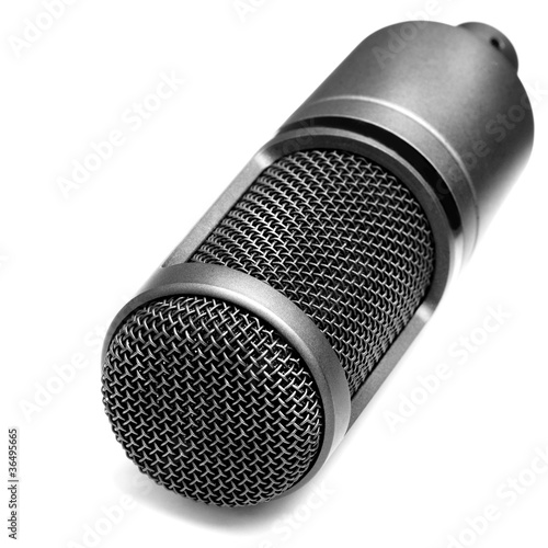 Microphone for recording music and songs