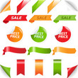 Set Labels And Web Ribbons