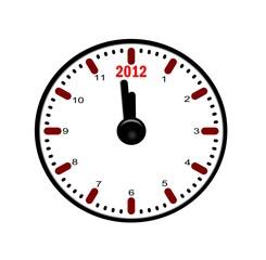 horloge 2012
