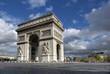 Fototapeten,arc de triomphe,paris,frankreich,monuments