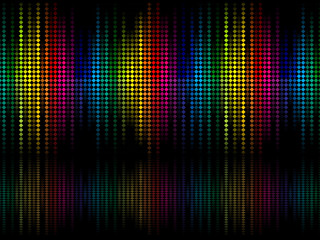 abstract colorful rainbow sparkle dots background