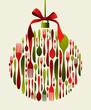 Christmas Bauble Cutlery - 36498051