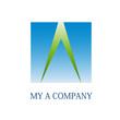 Logo letter A, environment # Vector
