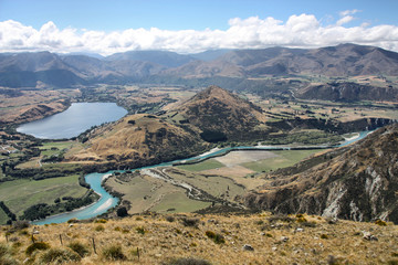 New Zealand - mountain landscape