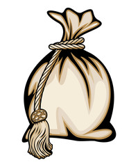 Money bag vector illustration