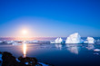 Summer night in Antarctica - 36506475