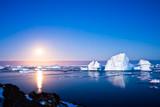 Fototapety Summer night in Antarctica