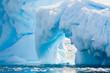 Leinwandbild Motiv Antarctic Glacier