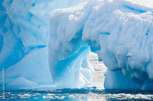 Foto op Canvas Poolcirkel Antarctic Glacier