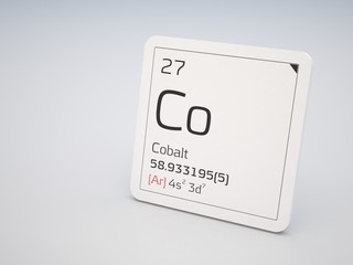Cobalt - element of the periodic table