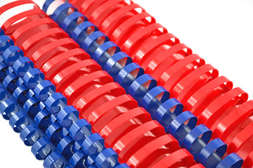 Spirali plastiche per rilegatura