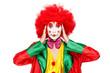 colorful clown
